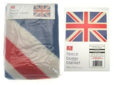 Buggy Blanket - Union Jack (Traditional) (100 x 75cm)