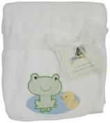 Kids Line Pram Boa Blanket with Lily Pond Embroidery