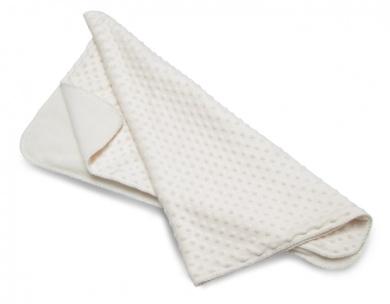 Baroo Luxury Bubble Pram Blanket (White)