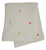 Lollipop Lane Tiddly Wink Safari Knitted Pram Blanket