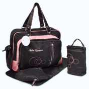 4pcs Baby Kingdom Thermo Changing Bag in Pink
