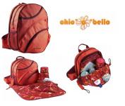 Designer Chic O Bello Baby Changing Koln Backpack Bag