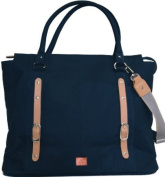 PacaPod Mirano Navy Designer Baby Changing Bag - Luxury Blue Tote 3 in 1 Organising System