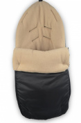Cuddles Collection Showerproof Fleece Lined Carseat Footmuff