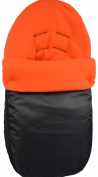 Cuddles Collection Showerproof Fleece Lined Carseat Footmuff