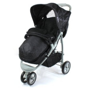 Deluxe Universal Footmuff to fit Britax B-Mobile - black