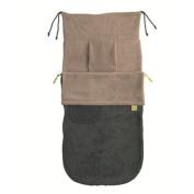 New Design Buggysnuggle - Charcoal/Pebble Fleece