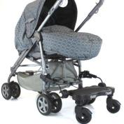 New Baby Travel Stroller Pram Three Wheeler Buggy Board Kiddie Kiddy Board Black
