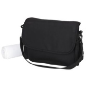 Clair de Lune All Seasons Pushchair Changing Bag - Black