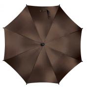 Schirm de Luxe dunkelbraun