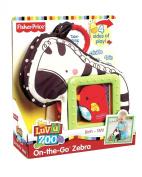 Fisher-Price Luv U Zoo On the Go Zebra
