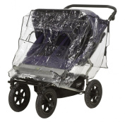 Playshoes Universal Raincover for Twin Buggy