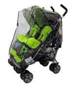 Raincover Mothercare Stroller Weathershield Twin Throwover