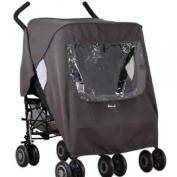 Koo-di Pack-It Keep Us Dry Double Stroller Rain Cover