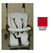 Willy & Co. Stroller Cover Willy & Co in Towelling Cotton Red