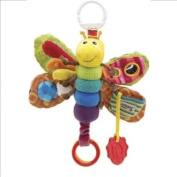 LAMAZE FREDDIE THE FIREFLY PLAY AND GROW BABY COT PRAM TOY- NEW