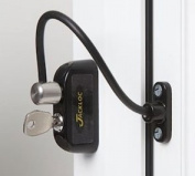 Jackloc Window and Door Restrictor Black