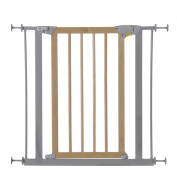 Hauck Deluxe Wood and Metal Pressure Fix Safety Gate