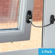 Penkid Window Restrictor - Dark Brown