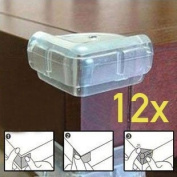 12x BABY SAFETY TABLE CORNER PROTECTION