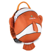 Littlelife Toddler Clown Fish Daysack With Safety Wrist Rein