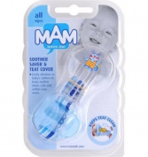 Mam Soother Saver With Teat Cover Pink