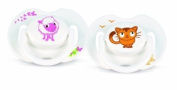 Philips AVENT SCF182/33 BPA-Free Animal Soothers (0-6 Months) 2 Pack