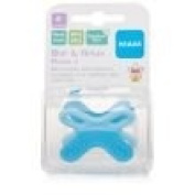 MAM BITE AND RELAX PHASE 2 TEETHER BLUE IN COLOUR 4M+ BPA FREE