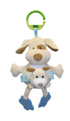Animal Planet Mommies and Babies Rattle Stroller Toy