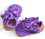 Cotton Baby Girls Soft Crib, Pram Shoes, Pre-Walker Shoes, Stylish Flower Detail
