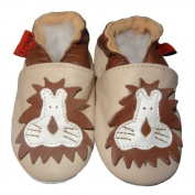 Soft Leather Baby Shoes Lion 0-6 months