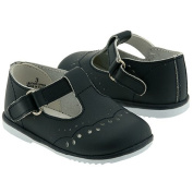 Baby Toddler Girls Navy Eyelet Design Mary Jane Trendy Shoes Size 1-7