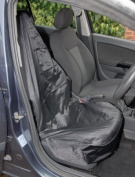 Draper 22596 Side Airbag Compatible Polyester Front Seat Cover