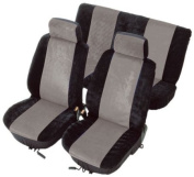 Unitec 84384 Colori Seat Cover 8 Piece Anthracite