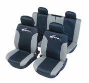 "Unitec 84430 Seat Cover Mesh ""Limited Edition Active"" Anthracite"