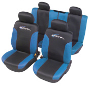 "Unitec 84429 Seat Cover Mesh ""Limited Edition Active"" Blue"