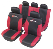 Unitec 84428 Seat Cover Mesh Limited Edition Active Red