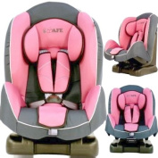 NEW iSAFE Comfy Padded CARSEAT CAR SEAT IN ECLIPSE PINK GROUP 1 - 9months - 4 years