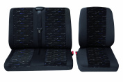 Cartrend Sprint Complete Seat Cover Set for Small Vans