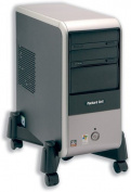 CPU Stand Mobile Adjustable Width 30 255mm Black
