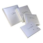 Kenro FLR104 Fleur Wedding Memo Album 200 7x5 (17.8x12.7 cm.) White