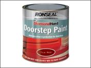 Ronseal Diamond Hard Doorstep Paint Black - 750ml.