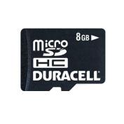 Duracell 8GB Micro SDHC Card