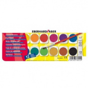 ARTS & CRAFTS -Paint box with 12 Colours - EBERHARDFABER