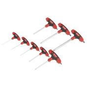 Sealey Tools BallEnd Hex Key Set 8pc THandle Metric