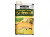 Ronseal Hardwood Furniture Oil Natural Clear Aero 500m