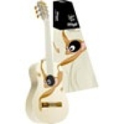1/2 Size Classical Guitar with Monkey Graphic Cream