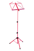 Kinsman Deluxe Music Stand and Bag, Red