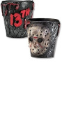 Fancy dress Friday The 13th - Jason Voorhees Plastic Shot Glasses