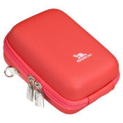 Rivacase Riva 7024 PU Digital Camera Case, Red